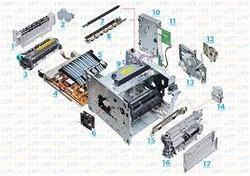 We have all the imported spares. I. E, mother boards, smps, fuser assembly, heating rollers, presser and Teflon roller. Rubber roller, pick up rubbers. Scanner lambs, scanner cables, control panels at very reasonable price.