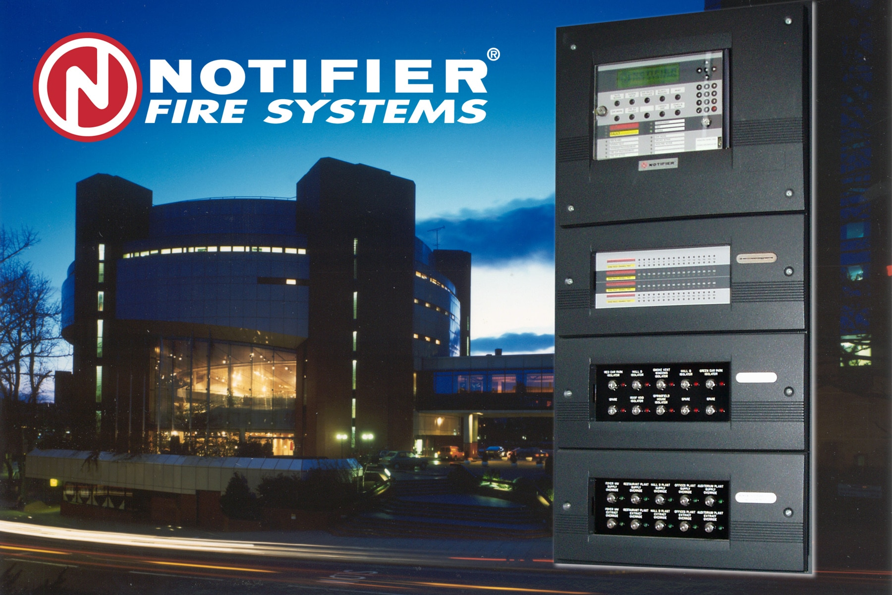 •	Notifier Fire Alar