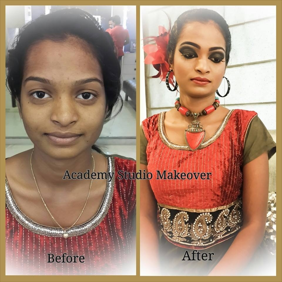 Party makeover- hair and makeup from traditional to contemporary!