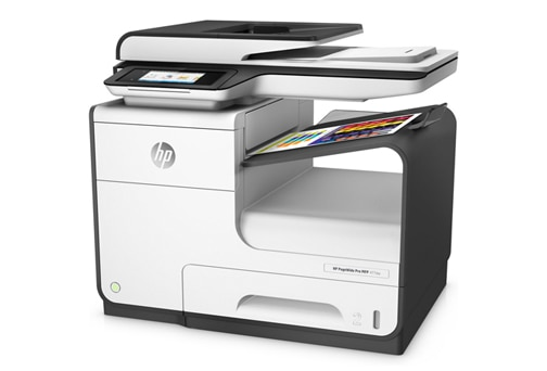 Ultimate value and speed—HP PageWide Pro delivers the lowest color cost and fastest speeds in its class.1 2 Get quick two-sided scanning, plus best-in-class security features and energy efficiency.3 4