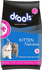 Nutritional support for optimum growth of kittens of all breeds Real fish is our number 1 ingredient, 100 percent nutrition, 0 percent fillers, 100 percent organic minerals.