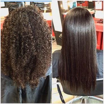 Hair straightening i