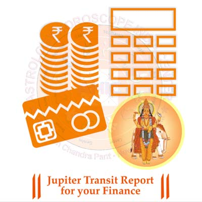 Though Jupiter is a benefit or friendly planet, whether it will give you positive effects or negative ones depends largely on its placement in the house. Therefore, our Jupiter transit report for your finance can reveal the reality of your planet's position in the house and its possible effects on your financial life. This way, you get to know if you keep on enjoying a healthy financial life or a bad one as concluded by the analysis of your kundali by our astrologer. Problems will by offering you remedial measures or certain tips as per the principles laid down in Vedic astrology.  IMPORTANT NOTES: •	Manually Analysed and Hand-written by Expert Astrologer •	Effective Solutions •	100% Satisfaction Guarantee •	Delivery: 7 Days •	Privacy Guaranteed  Your Report Will Contain: •	Astrological details of your Kundli •	Astrological analysis of your situation.  Impact on your financial life •	How much favorable or unfavorable is transit of Jupiter in Libra, concerning your finance.  •	Whether this is to help in pushing ahead your prospects on Financial front. Special observations •	Some notable developments are mentioned.  •	Accurate remedial measures for your problems.  •	Important Tips to make your situation easier for you