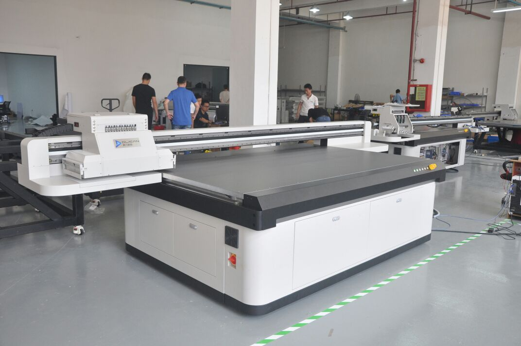 Ricoh Gen5 Head Based, 4 Color, 6 Color and 8 Color Optional, Fuji AC Servo Motor and Drive, Hiwin Linear Guideways, 25mm Megadyne Carriage Belt, 4Way Suction Control, Negative Pressure, Ink Level View able....