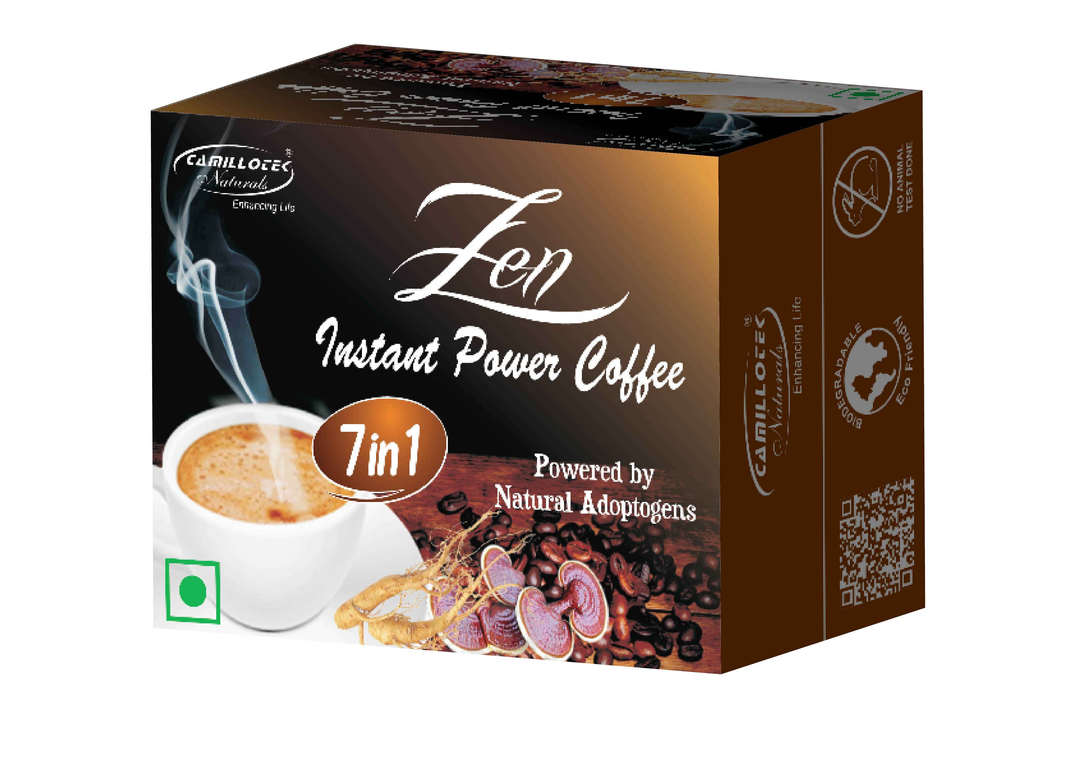 Zen Coffee powered b