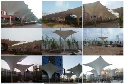 Architectural umbrel