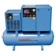 Valued as a reliable manufacturer and supplier, we render the optimum quality of Screw Compressors. High performance, energy efficient design and ability to tolerate high temperature, makes the rotary screw air compressor highly demanded. To meet the precise needs of our clients, we render Screw Compressors in various sizes and technical specifications.   Features: Easy to operate Requires minimum maintenance Longer serving life