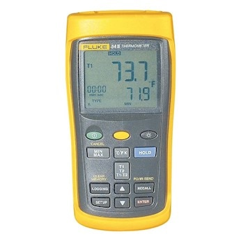 Fluke 54 II B Data Logging The