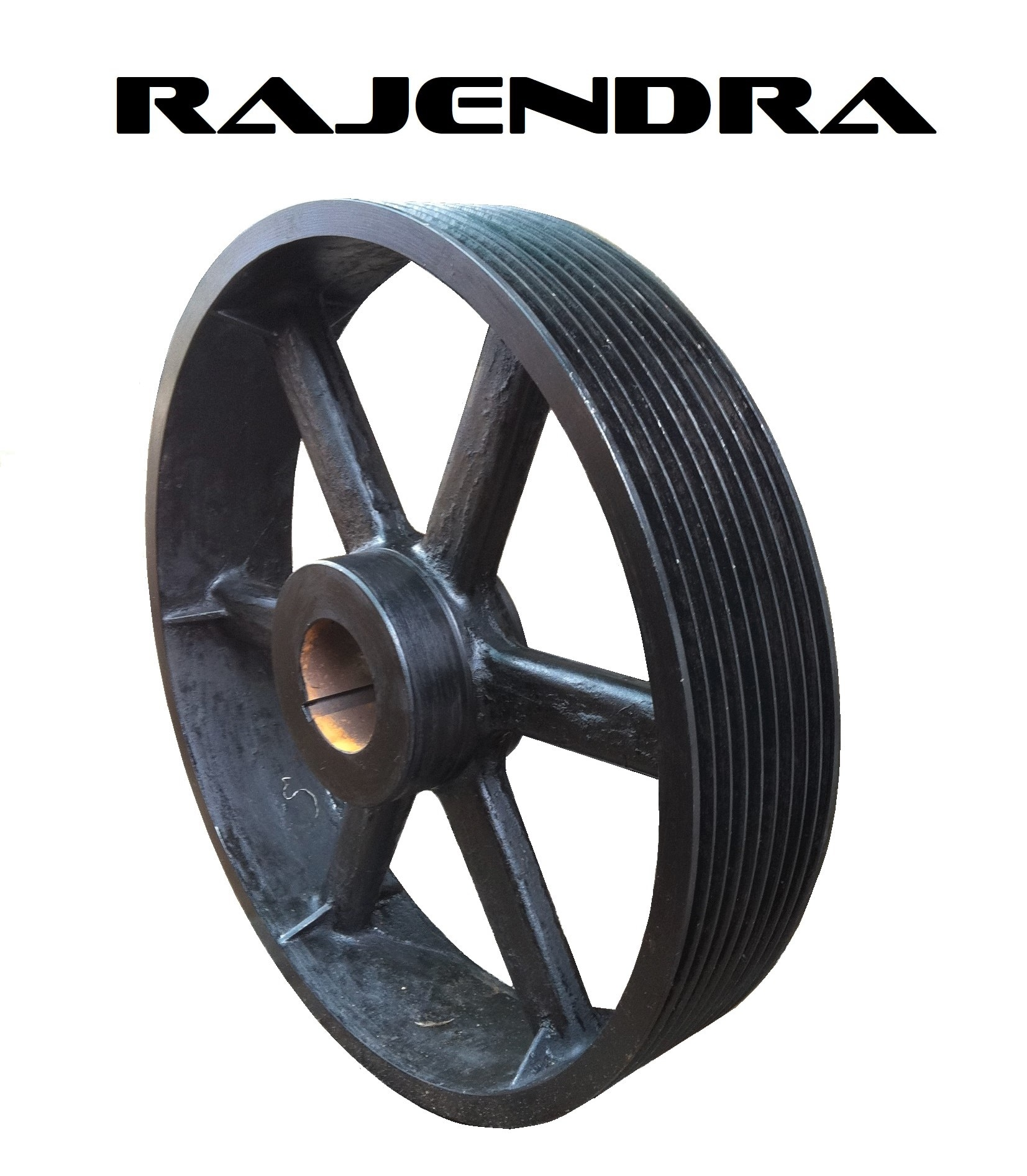 We are leading manufacturer of 8 Groove - SPC Section Pulley with assured quality.