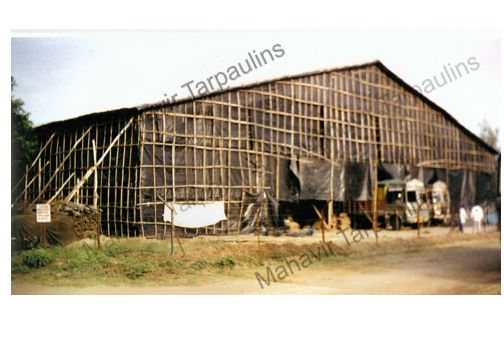 Based in Maharashtra, India, we are entrusted with a task of providing Tarpaulin Monsoon Shed Installation Services to our valued clients. We have a team of expert supervisors and skilled workers; they work as per your specifications and budgetary constraints. Further, we make use of the best grade raw material and production techniques to ensure maximum reliability and Solidity to the sheds. Apart from this, we provide round-the-clock free service against any seepage or breakage to our sheds. Interested clients can approach us for availing our Tarpaulin Monsoon Shed Installation Services.    More about Tarpaulin Monsoon Shed Installation Services   Shed's basic structure is made from wooden bullies, roof & side structure made with bamboos & coir ropes, then it covered with waterproof HDPE Tarpaulins, for extra safety black plastic is used on tarpaulins. Now days we have started using M.S truss for huge spans for vehicles or forklift movement wherever required. We take total responsibility for sheds like Estimate/ budget for shed, plan and diagram for best possible way to utilize available space, transportation of materials to site & erection of the sheds, after expiry of contract dismantling of shed and taking back material.