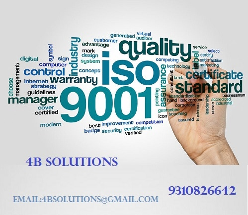 ISO 9001 certification is suit
