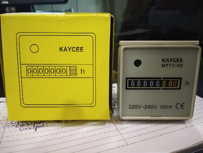 Wide ranges of meters available in Kaycee,  EAPL ( timers production counters temperature controllers etc)
