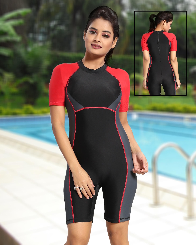 Desiner Ladies Swimming Costume Jalaram Swimming Wear In Mumbai India