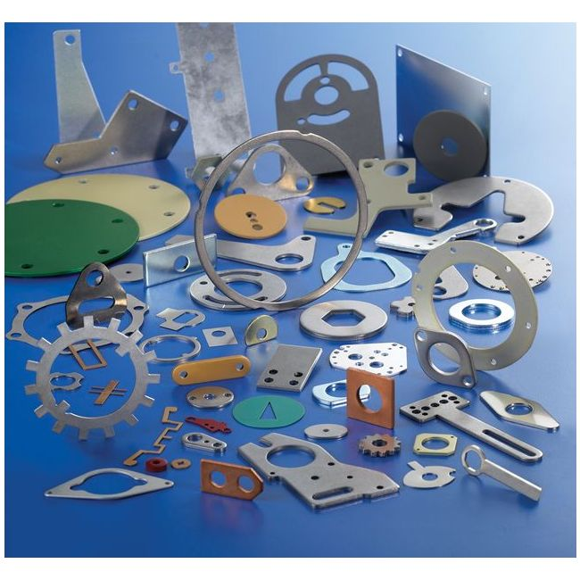 Lean manufacturing capable ISO 9001:2015 certified custom manufacturer of precision metal custom stampings. Materials handled include steel, stainless steel, carbon steel, rolled steel, galvanized steel, aluminum, copper & brass. Material thicknesses range from 0.005 in. to 0.188 in. Stamping capabilities include bending, forming, blanking, coining & piercing. Secondary services include deburring, drilling, grinding, heat treating, machining, painting, plating, riveting, tapping & welding. Other capabilities include design engineering, fabrication, finishing, part inspection, prototyping & tooling.