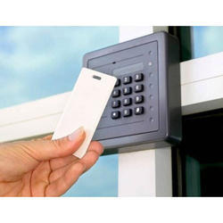 The comprehensive collection of Access Control System offered by us is designed with utmost precision by our trustworthy vendors. Further, we ensure that our procured range comes with the smart card RF-ID and the fine quality biometric readers & cards. Using these resources, the clients have an option of leaving the single or multi-door application users in a standalone mode or in a network. These exclusively cater to various commercial as well as residential applications.  Its further uses include:  Time attendance Payroll Controlled access