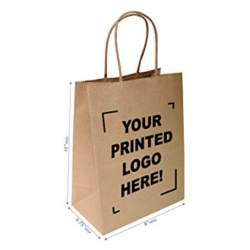 Printed Craft Paper Bags