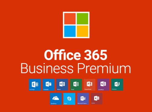 Always have the latest versions of your familiar Office applications, no matter which device you're using-PC/Mac, tablet, or phone. Store, sync, and share your files online so they're always up to date. Plus, you can edit documents with others in real time. Increase your impact and expand your reach with Office powered by the cloud must-have tools for business today. •Financially-backed 99.9% uptime service level agreement, 24/7 support for business-critical issues •300 user caps •Supports on-premises Active Directory sync for single sign on •Online meetings for up to 250 participants, with screen sharing, audio and video, virtual whiteboards, polls, and shared notes. •1TB of OneDrive for Business cloud storage •50 GB mailboxes with custom domains (me@mybusiness.com) & shared calendaring •Included apps: Word, Excel, PowerPoint, OneNote, Outlook, Publisher Apps can be fully installed to a PC or Mac, available offline Full Suite: Office apps + Cloud services