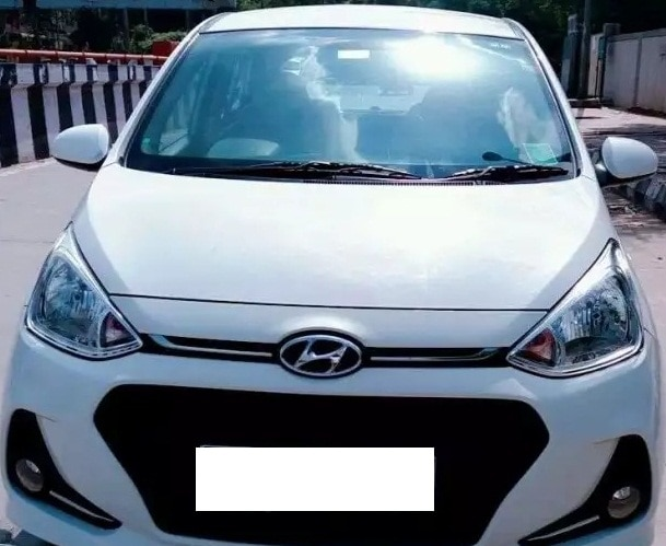 2018Reg Hyundai Grand I 10 Sportz 1.2 Kappa, Less Driven, White color, DL number, Single owner, Brand new car with genuine kilometers, Just like new.