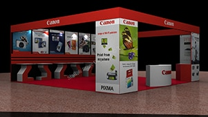 Exhibition Stall Makers : Exhibition stall tellventure creation in ahmedabad
