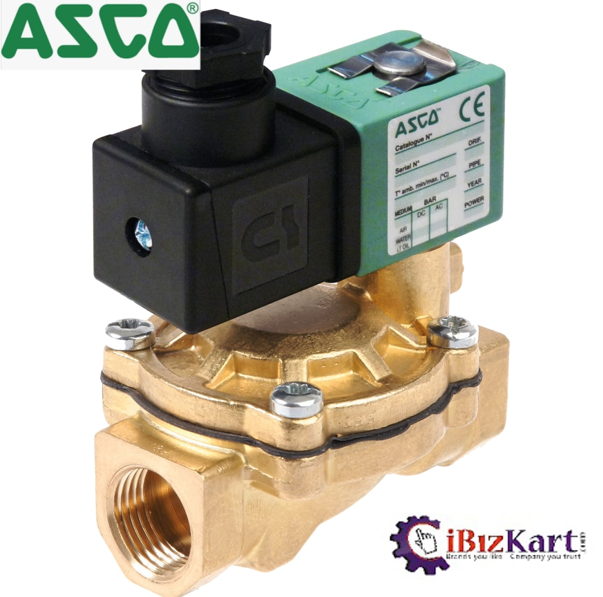 A solenoid valve is