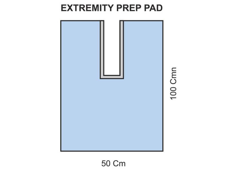 EXTREMITY PREP PAD