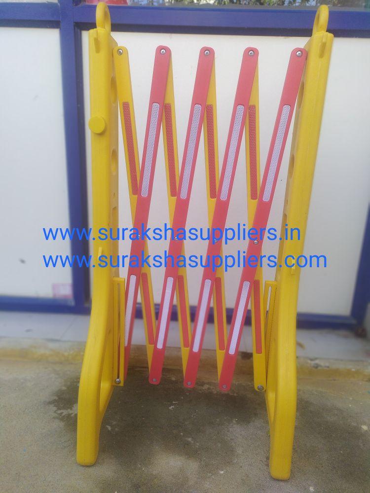 Expandable PVC Barri
