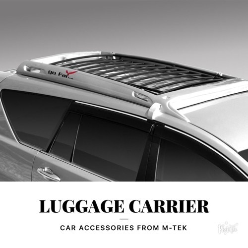 Luggage carrier for