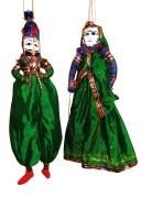 Rajasthan Art kathputli Pair