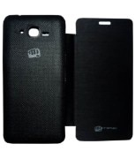Aara Flip Cover For Micromax Black-BOLT A67