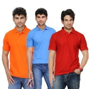 TSX-POLOT-579 Exquisite Polo T-shirt For Men (Pack Of 3)