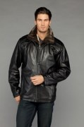 Hide House Leather Winter Men's Coat