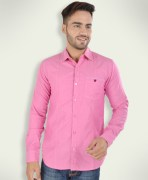 Barryline London Hot Pink Plain Causal Shirt