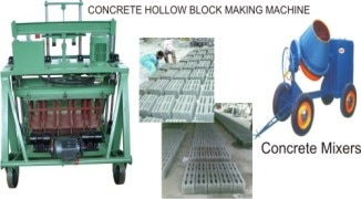 Expo Hydra Concrete Machine