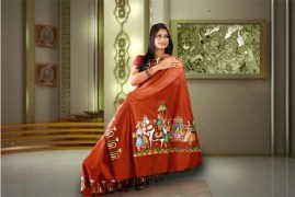 DOLI DESIGN (Hand Painted Saree)