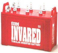 Exide Invared Tubular IR500 Battery