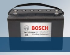 Bosch T6 AGM Battery