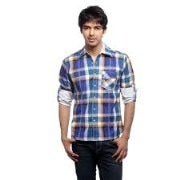 Abercrombie and Fitch Casual Shirt (BBP-005 Maroon)