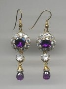 FASHIONIKA American Diamond earings