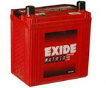 Exide Matrix Car Battery