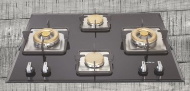 Elica Built in Hobs MFC 4B 70 DX Cooking Stove