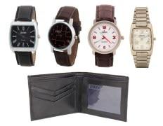 Zion Zdc-151 4 Men's Watch With Wallet