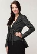 Elle Semi Formal Jacket With Double Lapel
