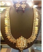 Wild West Temple Laxmi Necklace