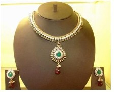 Wild West Hi Fashion Jewellers Antique Kutch Design Necklace