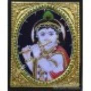 Tanjore Krishna Painting