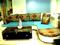 Squar Feet D Sofa Set