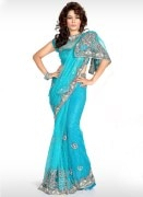 Net Designer Wedding Saree