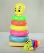 Round Ring Set & Toy Fish