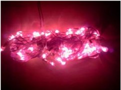 Decorative Light (Set of 4 Pcs & Get 1 Free) - Pink