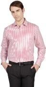 Peter England Striped Formal Men's Shirt